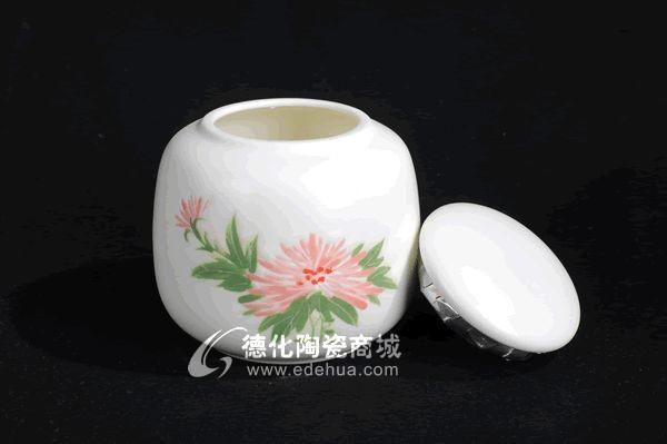 手绘茶叶罐,定做批发,茶叶罐